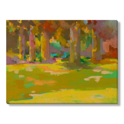 Fatmir Gjeukaj Trees Canvas Wall Art