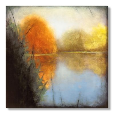St. John Autumn Marsh I Gallery Wrapped Canvas Art