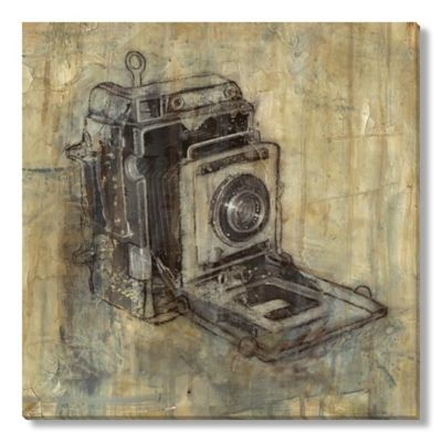 Justin Garcia Camera Gallery Wrapped Canvas Art
