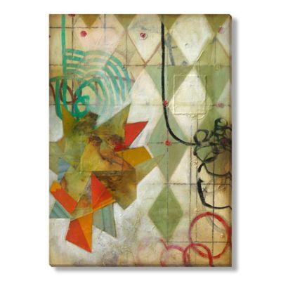 DeRosier Industrial Green II Gallery Wrapped Canvas Art