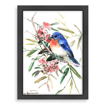 Suren Nersisyan Blue Bird Wall Art