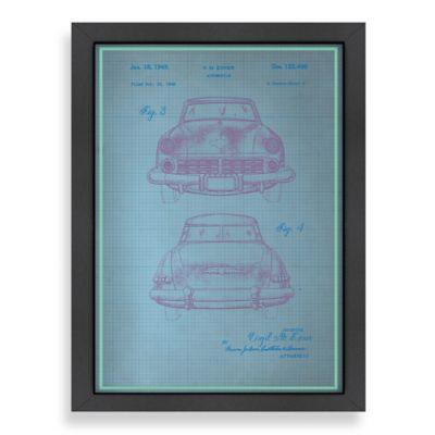 Americanflat Studebaker II Blueprint Wall Art