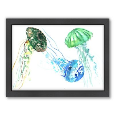 Americanflat Suren Nersisyan Jelly Fishes Wall Art