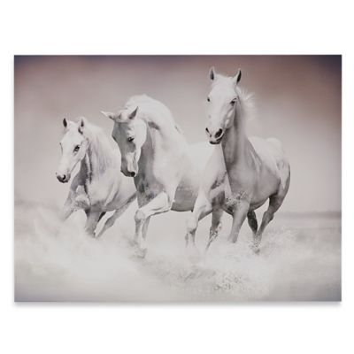 Graham & Brown Galloping Waves Printed Canvas Wall Art