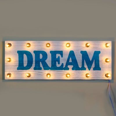 Marquee Dream Light-Up Sign