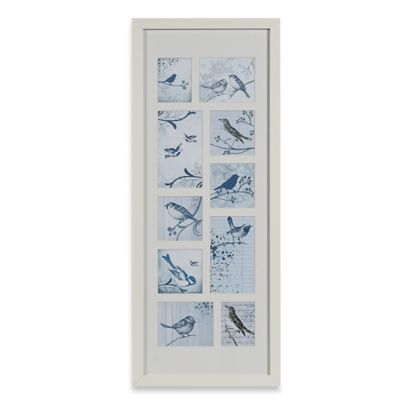 Graham & Brown Feathered Friends Collectibles Medium Framed Wall Art