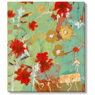 Jaquiel Flower Maze I Gallery Wrap Canvas Wall Art