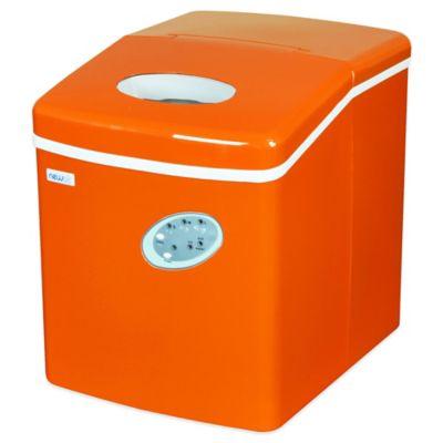 NewAir 28 lb. Portable Ice Maker in Orange