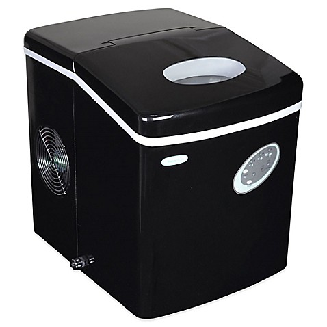 Buy NewAir 28 lb. Portable Ice Maker in Black from Bed Bath & Beyond