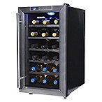 NewAir 18-Bottle Single-Zone Thermoelectric Wine Cooler in Stainless Steel