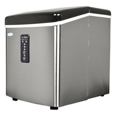 NewAir 28 lb. Stainless Steel Portable Ice Maker