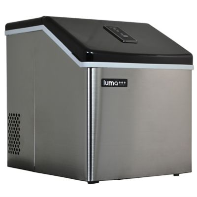 28 Lb. Stainless Steel Portable Ice Maker