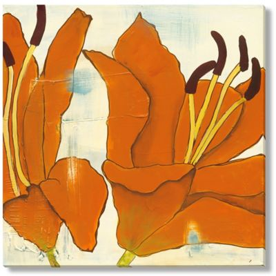Laura Gunn Lily Suite I Canvas Wall Art