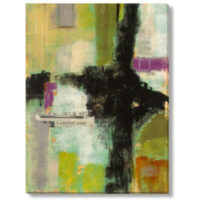 Sara Abbott Comfort Zone I Canvas Wall Art