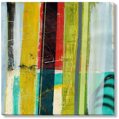 David Dauncey Broadcast IV Gallery Wrapped Canvas Art