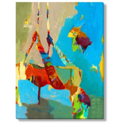 M. Drake Abstract Figure II Gallery Wrapped Canvas Art