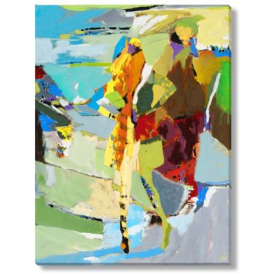 M. Drake Abstract Figure III Gallery Wrapped Canvas Art