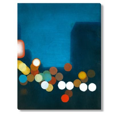 Sean Jacobs Flashing Lights I Canvas Wall Art