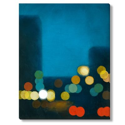 Sean Jacobs Flashing Lights II Canvas Wall Art