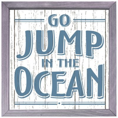 """Go Jump in the Ocean"" Box Sign"
