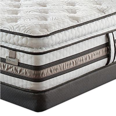 Serta® iSeries® Merit Super Pillow Top Twin Mattress Set