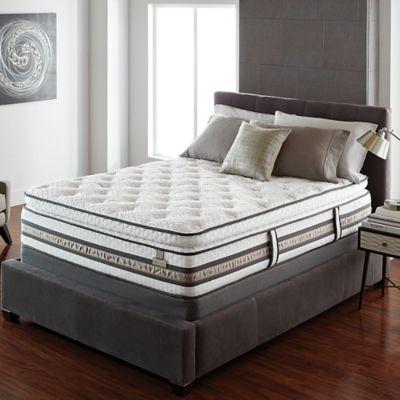 Serta® iSeries® Merit Super Pillow Top California King Mattress Set