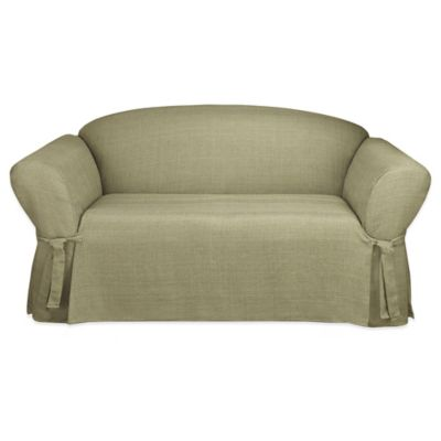 Sure Fit® Mason Relaxed-Fit Sofa Slipcover in Sage