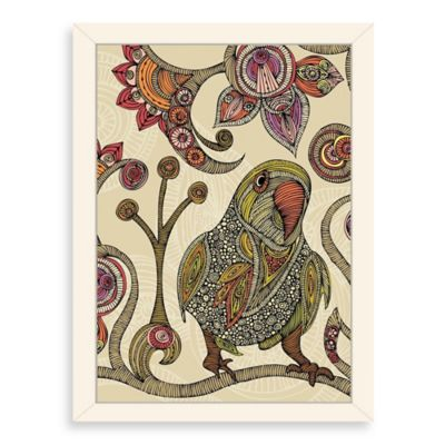 Americanflat Valentina Ramos Peter Digital Print Wall Art with White Frame
