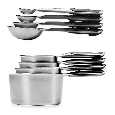 Oxo Good Grips Stainless Steel Measuring Cups And Spoons Bed Bath Beyond