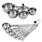 Culinary Institute of America® Stainless Steel Measuring Cups and Spoons