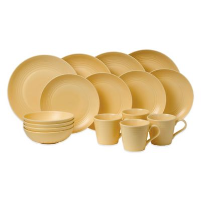 Gordon Ramsay by Royal Doulton® Maze 16-Piece Dinnerware Set in Buttermilk