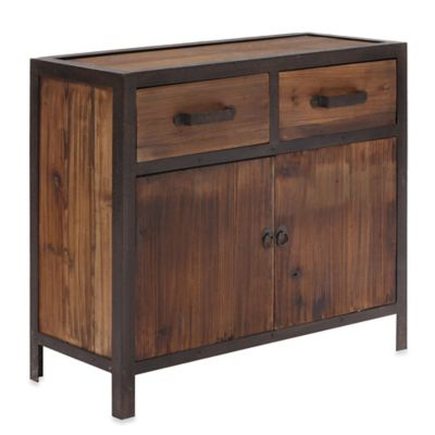 Zuo® Fort Mason Distressed Cabinet