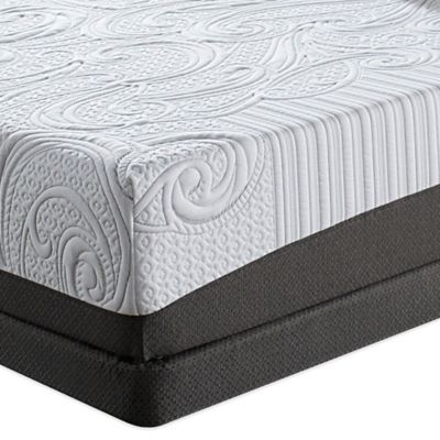Serta® iComfort® Savant EverFeel™ Cushion Firm Low Profile Queen Mattress Set