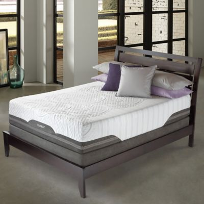 Serta® iComfort® Savant EverFeel™ Plush Low Profile Queen Mattress Set