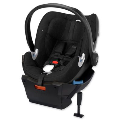 Cybex Aton Q Plus Infant Car Seat in Black Beauty