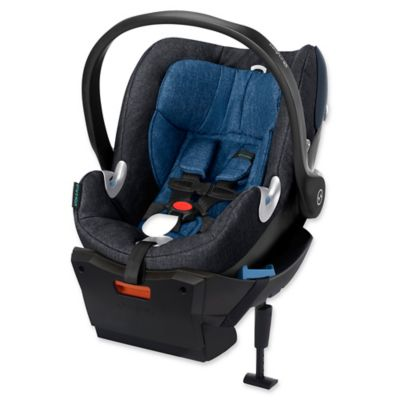 Cybex Aton Q Plus Infant Car Seat in True Blue