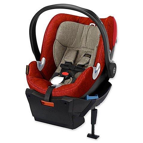 cybex platinum aton q plus infant car seat in autumn gold buybuy baby. Black Bedroom Furniture Sets. Home Design Ideas