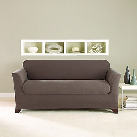 Buy Sure Fit 174 Stretch Twill 2 Piece Sofa Slipcover In