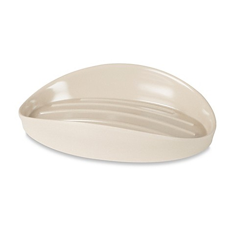 Umbra® Curvino Soap Dish in Linen