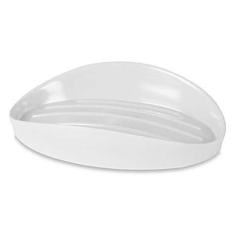 Umbra® Curvino Soap Dish in White