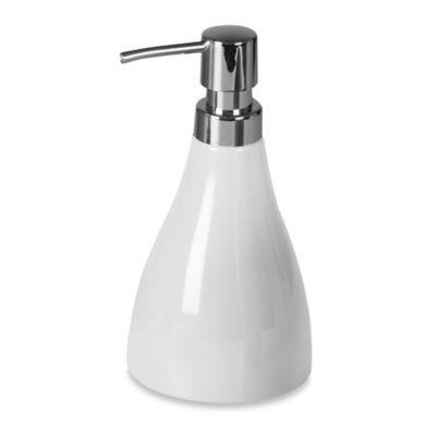 Umbra® Curvino Lotion Dispenser in White