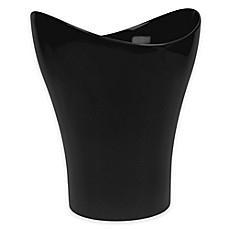 Umbra® Curvino Wastebasket in Black