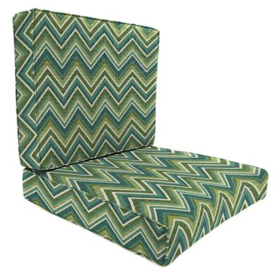 Sunbrella® 45-Inch x 25-Inch 2-Piece Deep Seat Chair Cushion in Fischer Lagoon