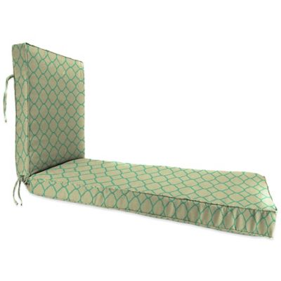 80-Inch x 23-Inch Chaise Lounge Cushion in Sunbrella® Accord Jade