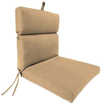 Sunbrella® 44-Inch x 22-Inch Dining Chair Cushion in Canvas Camel