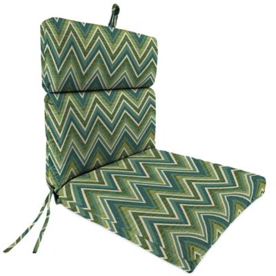 44-Inch x 22-Inch Dining Chair Cushion in Sunbrella® Fischer Lagoon