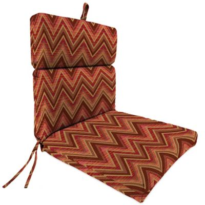 44-Inch x 22-Inch Dining Chair Cushion in Sunbrella® Fischer Sunset