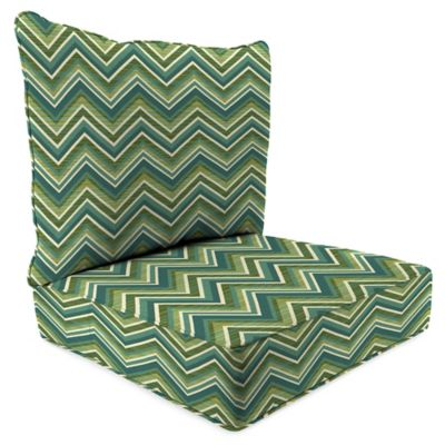 24-Inch x 24-Inch 2-Piece Deep Seat Chair Cushion in Sunbrella® Fischer Lagoon