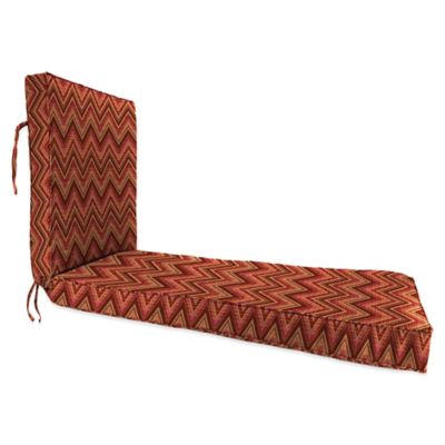 68-Inch x 24-Inch Chaise Lounge Cushion in Sunbrella® Fischer Sunset
