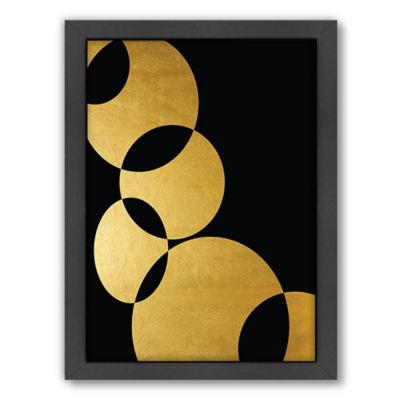 Americanflat Orbital in Gold 1 Wall Art